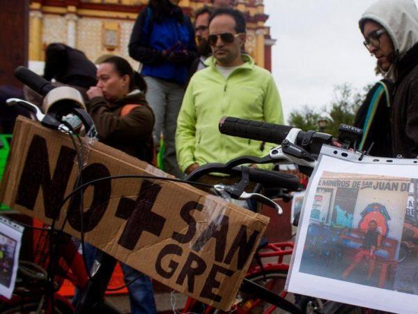 BBC Mundo: Una manifestación por el crimen contra los ciclistas