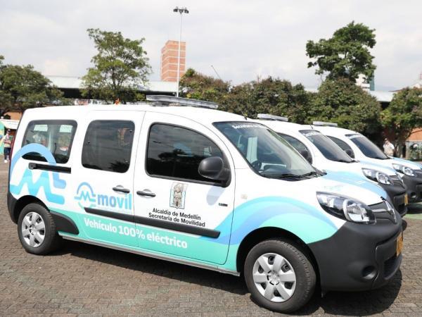 Vehículos eléctricos Medellín