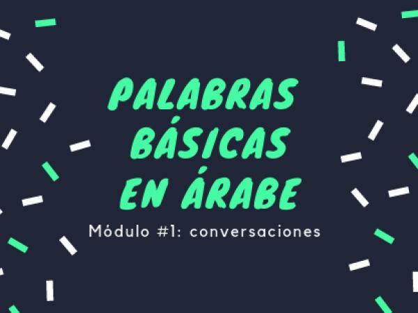 Lenguaje viajero: árabe