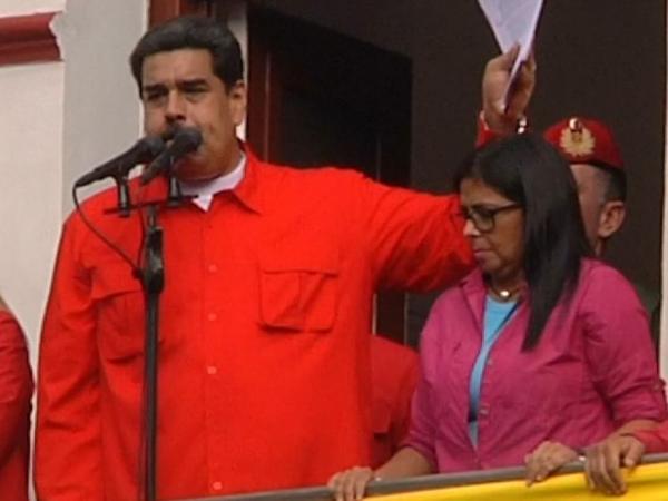 Respuesta de Maduro a la presidencia 'interina' de Juan Guaidó