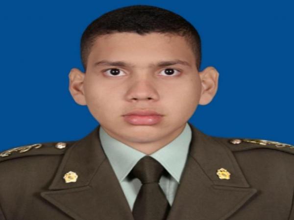 Cadete Andrés Fuentes, victima de atentado