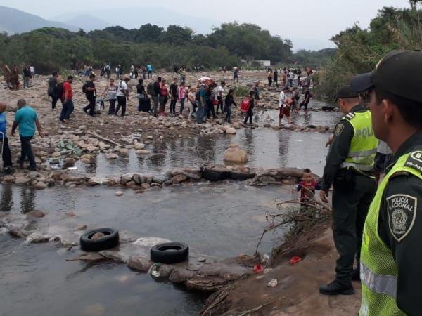 Migración irregular en la frontera con Venezuela