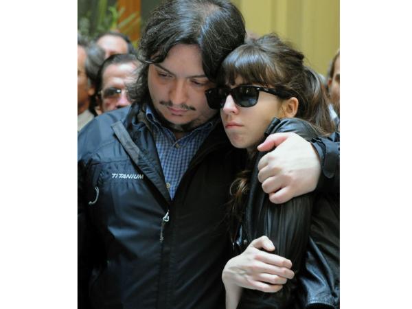 Máximo y Florencia Kirchner