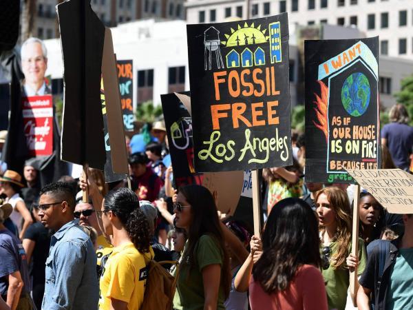 Protestas por el medio ambiente