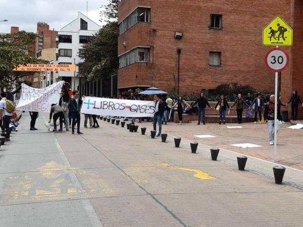 Manifestaciones de docentes