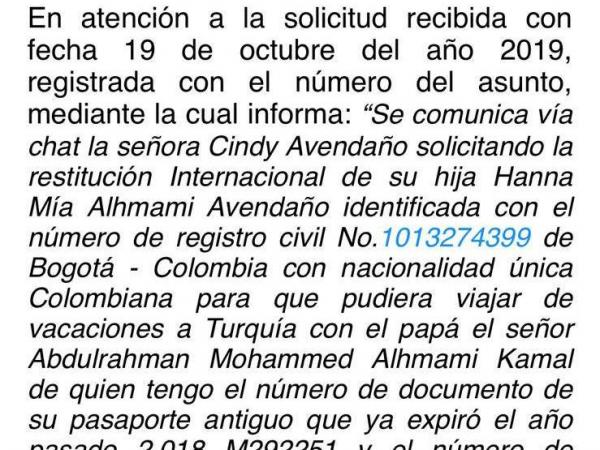 Cindy Avendaño