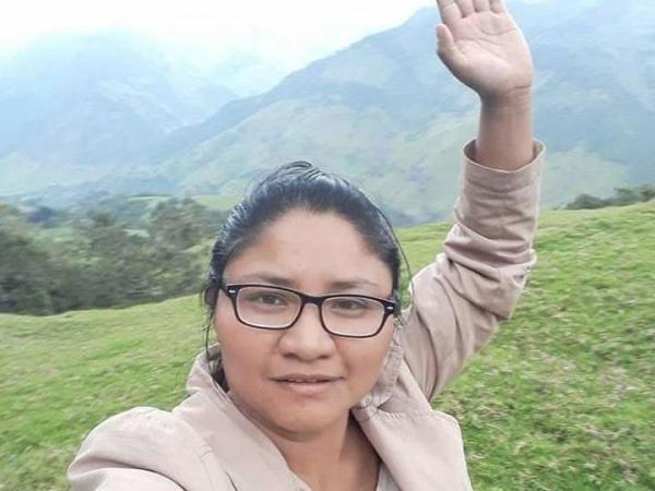 Cristina Bautista, gobernadora indígena entre las víctimas fatales del ataque.
