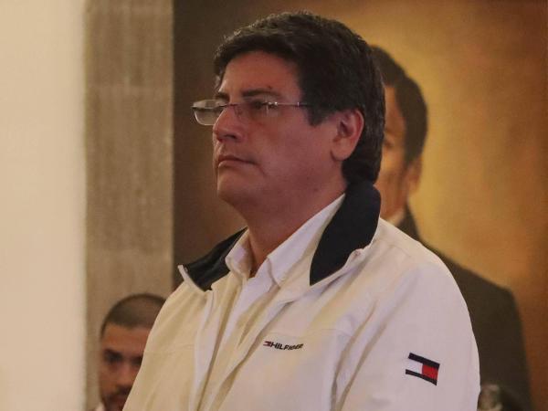 Ministro de la presidencia Jerjes Justiniano Bolivia