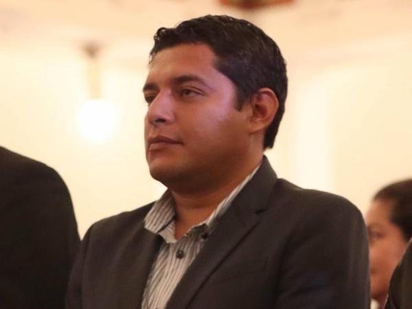 Ministro de Justicia, Álvaro Coimbra. Bolivia