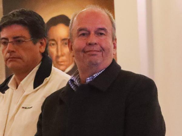 Ministro de Gobierno, Arturo Murillo. Bolivia