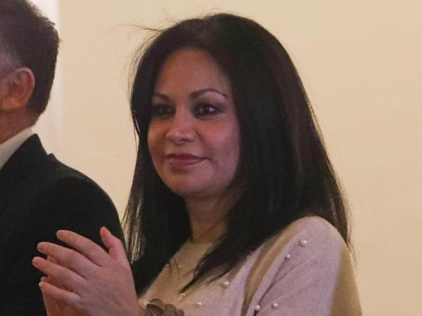 Ministra de Comunicación, Roxana Lizárraga. Bolivia.