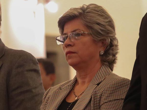 Ministra de Medio Ambiente y Aguas, María Elva Pinckert. Bolivia.