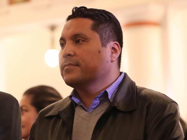 Ministro de Desarrollo Rural, Mario Ordoñez. Bolivia.