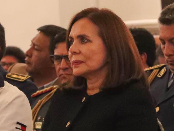 Nueva canciller de Bolivia, Karen Longaric Rodríguez.