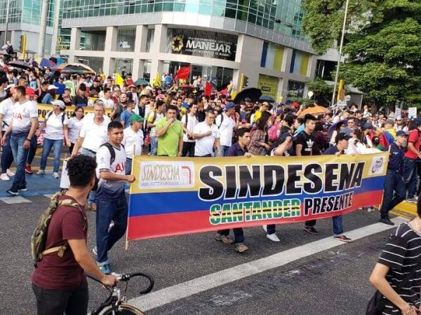 Marchas 4D Bucaramanga