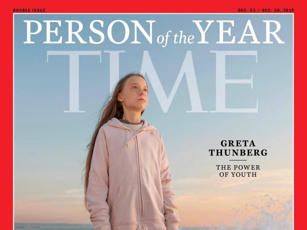 Greta Thunberg, persona del año Time