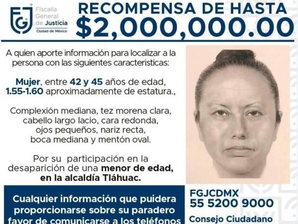 Secuestradora de la niña Fátima