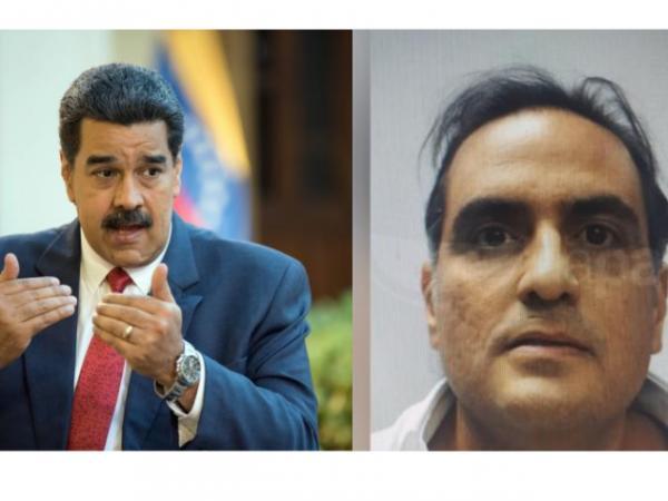 Nicolás Maduro y Álex Saab