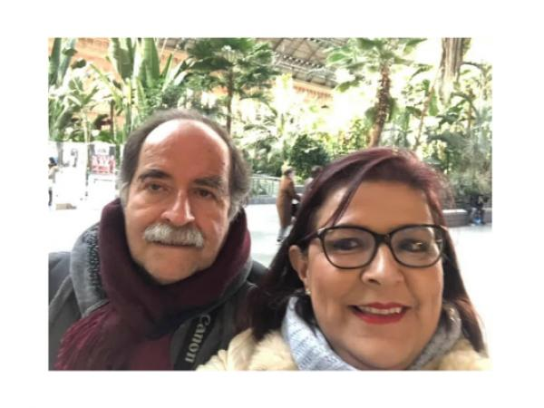 Luz Victoria y Gustavo Covelli