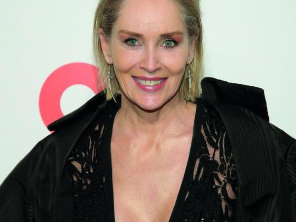 Actriz estadounidense Sharon Stone