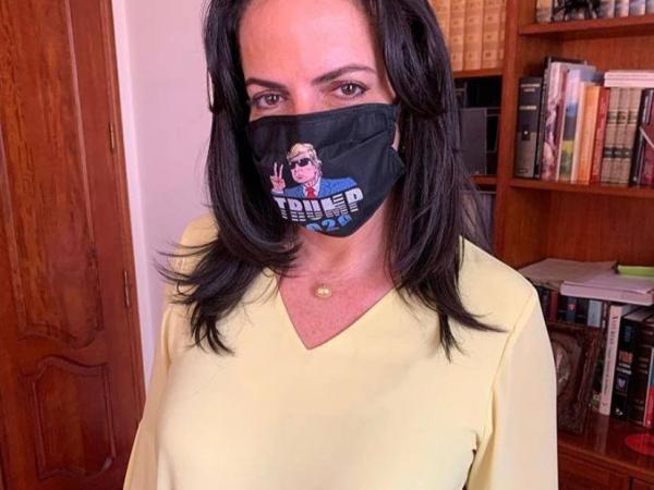 María Fernanda Cabal se la juega toda con Donald Trump