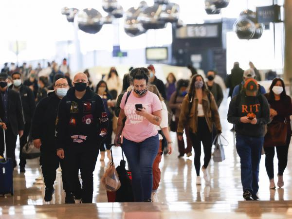 Viajes en el Día de Acción de Gracias en EE. UU.