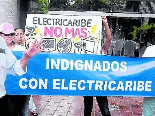 Pelea con Electricaribe conecta a toda la Costa