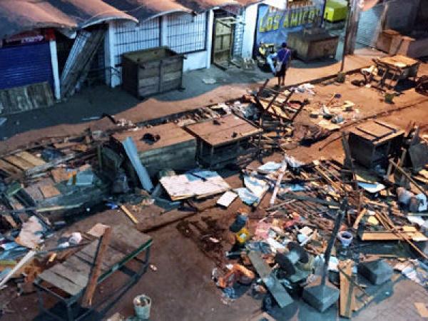 Resultado de imagen para mercado  publico santa marta