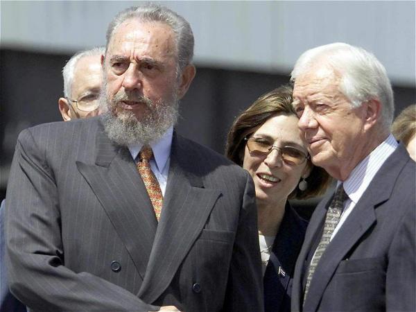 Los presidentes de EE. UU. Con los que Fidel Castro convivió