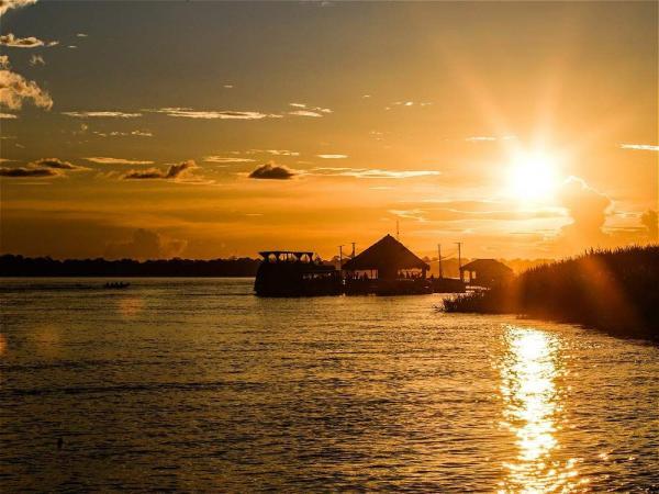 El río Amazonas fue bautizado por los brasileños como el río Solimões. Foto: Juan Diego Buitrago