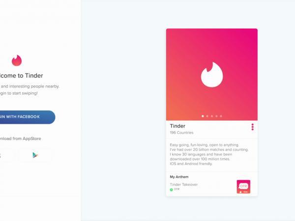 Tinder apuesta por el diseño de WhatsApp para su versión web