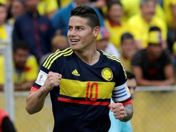 James Rodríguez y el desempeño de Colombia contra Ecuador