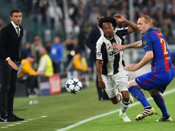 Juventus 3 - Barcelona 0