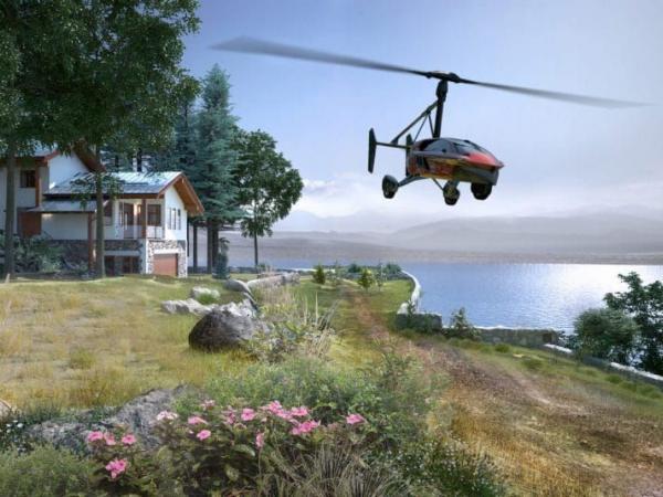 Carro volador 2