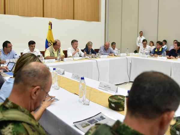 Santos advierte que lluvias en Colombia alcanzarán su pico la próxima semana
