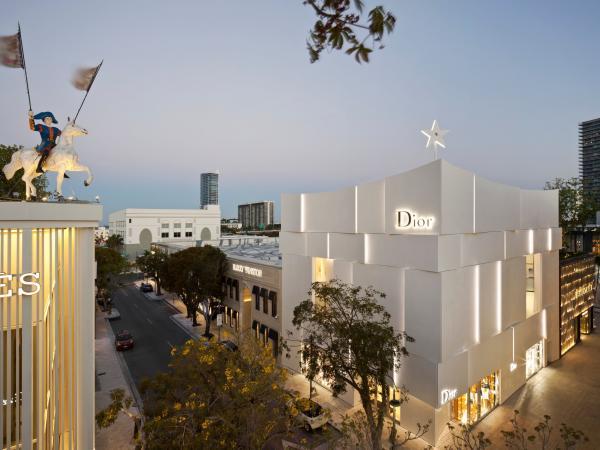 Tienda Dior en Estados Unidos