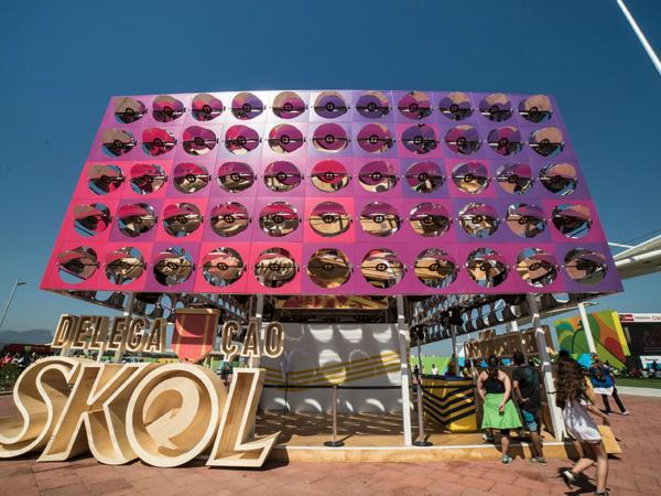 Dancing Pavilion, en Río de Janeiro