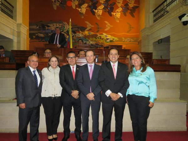 Senador Mauricio Aguilar