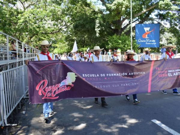 Grupo folclórico de las Farc