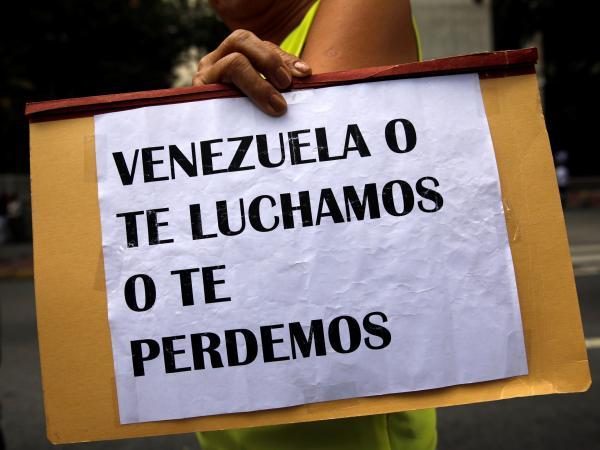Venezolanos en el exilio
