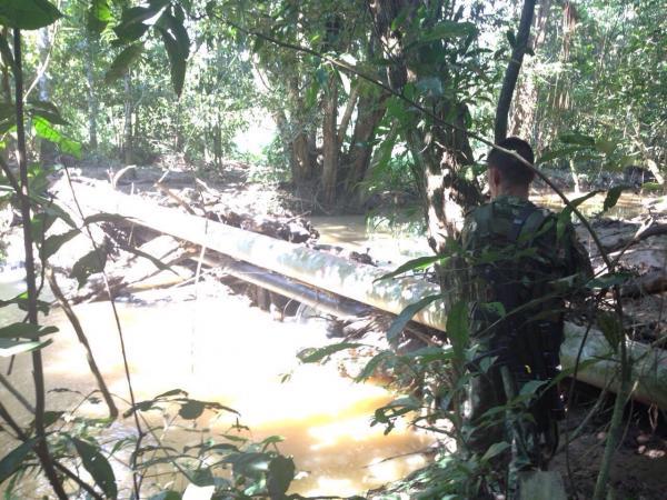 Ejército en San Vicente