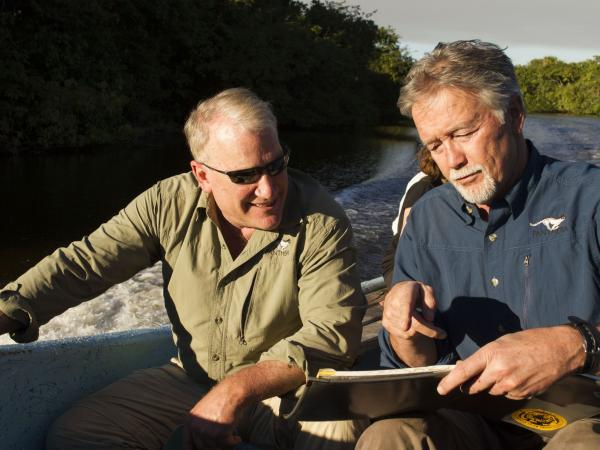 Alan Rabinowitz y Howard Quigley