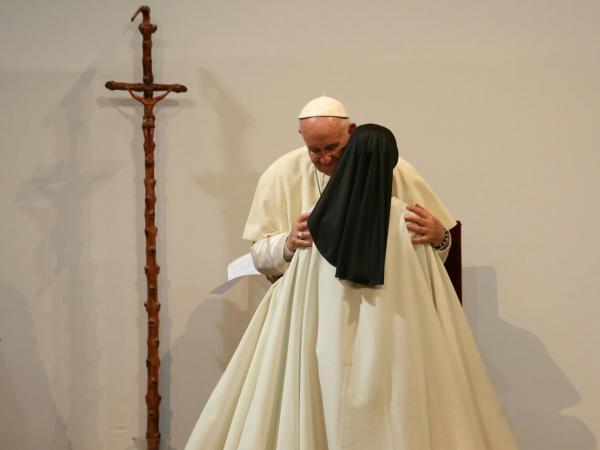 Papa en La Macarena de Medellín
