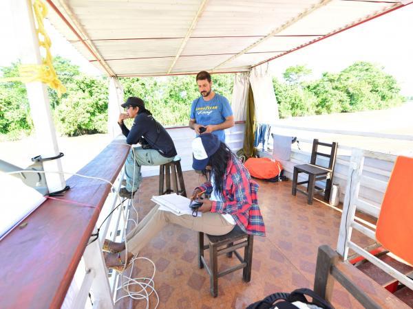 Expedición río Arauca