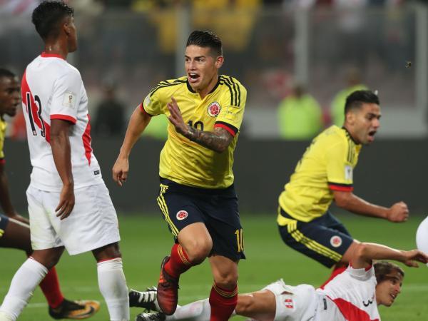 pardido Colombia Perú