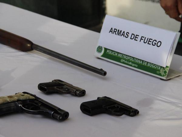 Capturan banda de microtráfico en Los Mártires