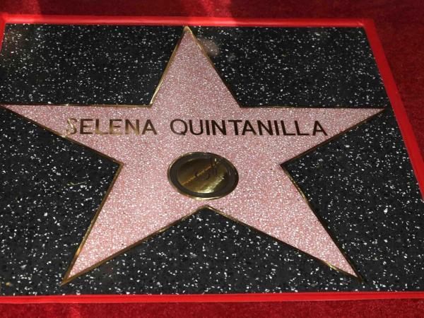 Estrella de Selena Quintanilla