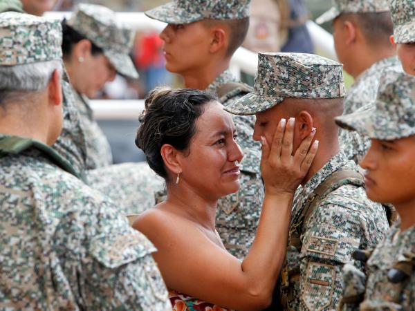 Al programa de Infantería de Marina forman al año cerca de 12.000 infantes de Marina en 33 programas de entrenamiento. Foto: Jaiver Nieto, EL TIEMPO