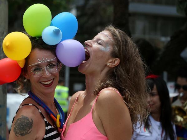 Marcha orgullo gay en Rio de Janeiro