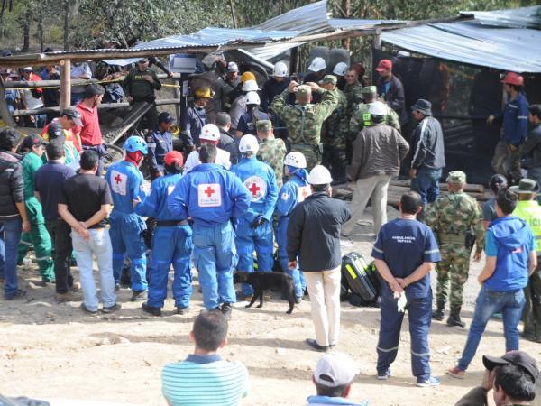 Explosión en la mina de carbón La Fortuna, en Boyacá